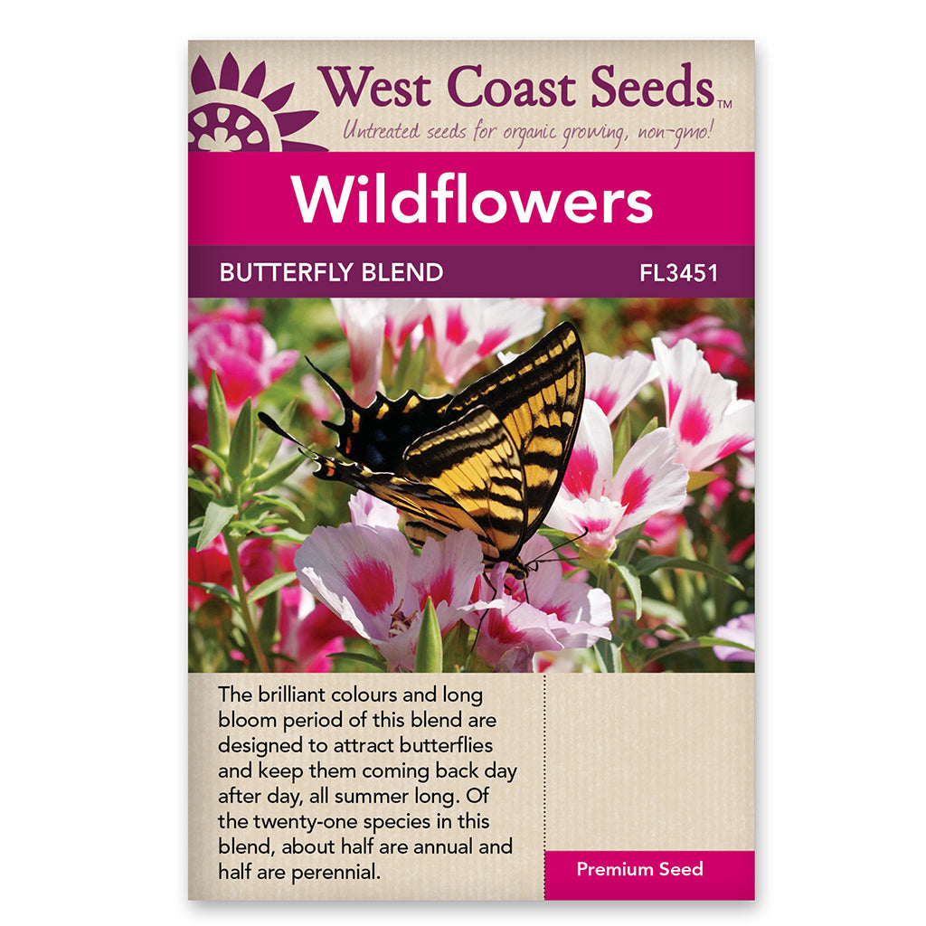 Wildflower Butterfly Blend Seeds