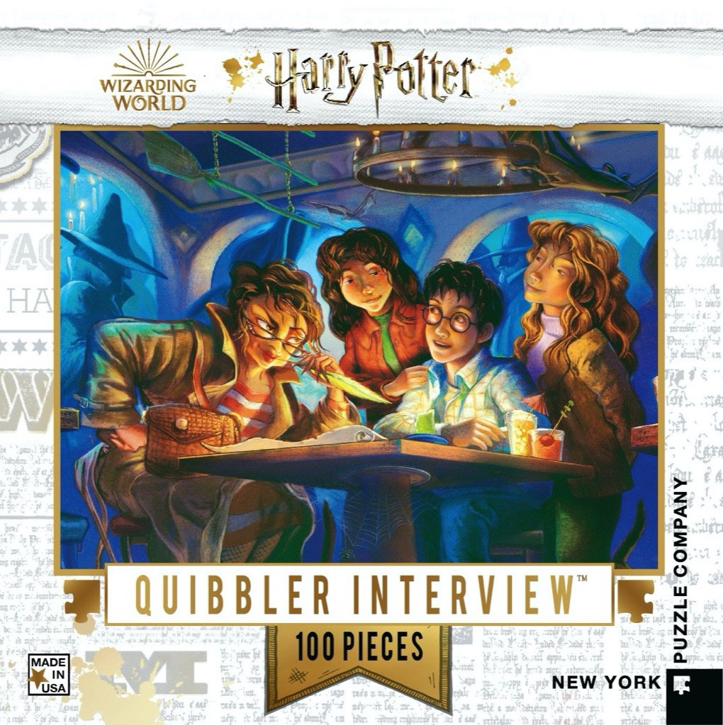 The Quibbler Interview Mini puzzle
