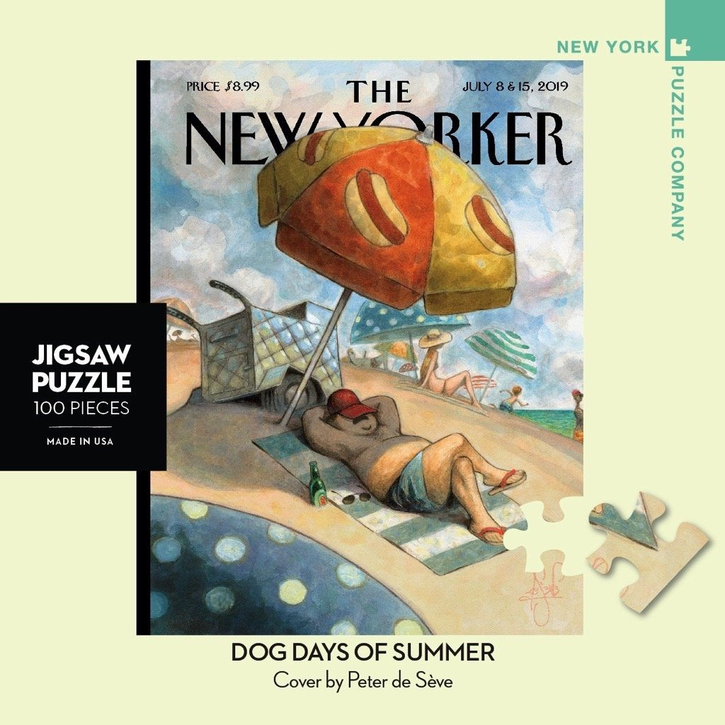 Dog Days Of Summer Mini puzzle