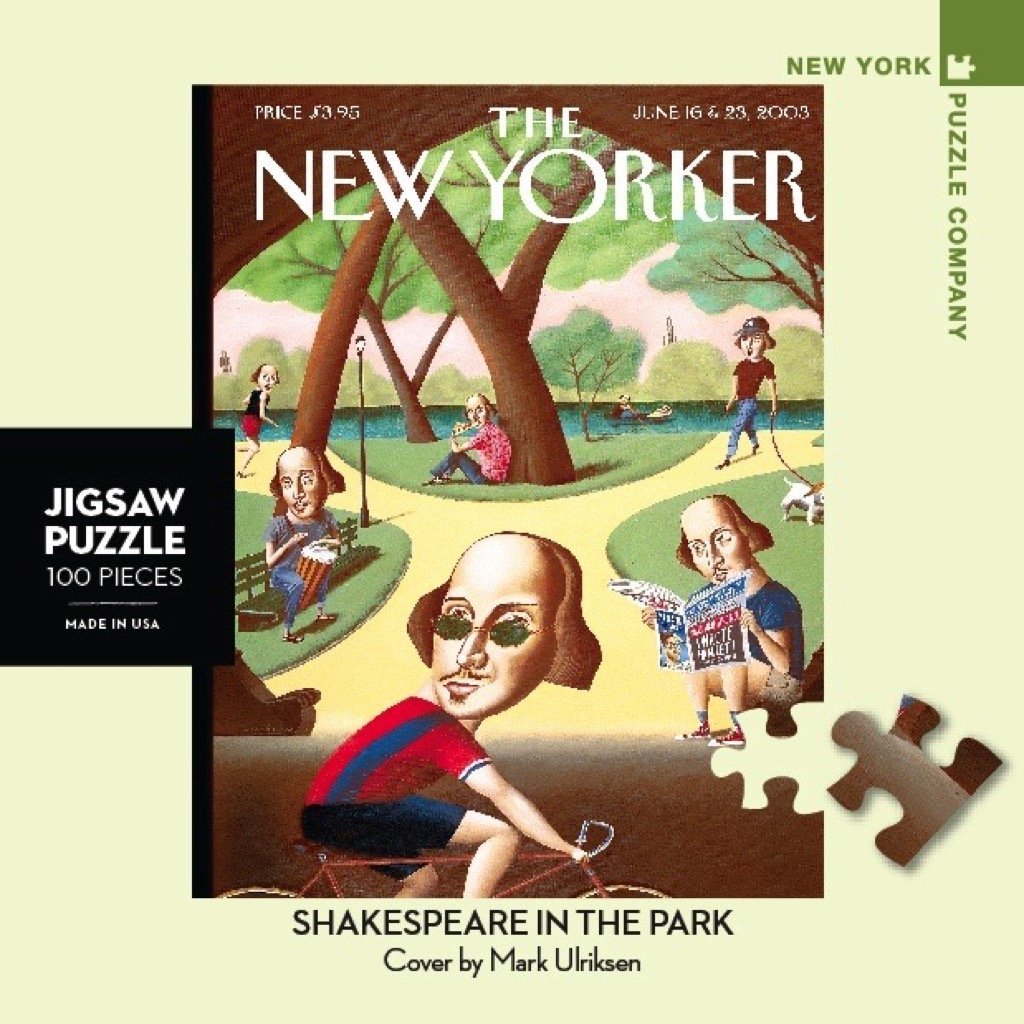 Shakespeare In The Park Mini puzzle