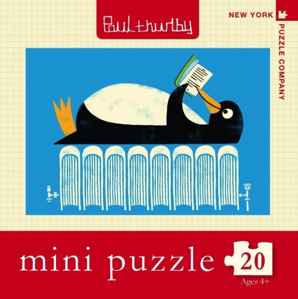 Winter Reads Mini puzzle