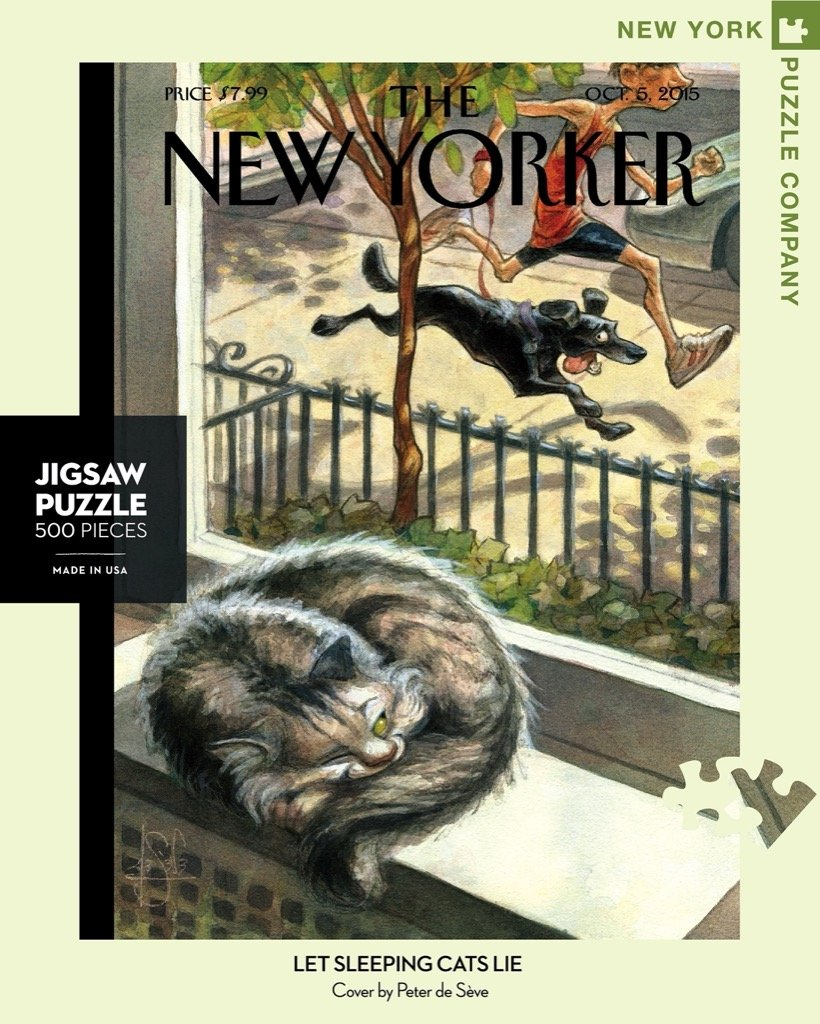 Let Sleeping Cats Lie puzzle