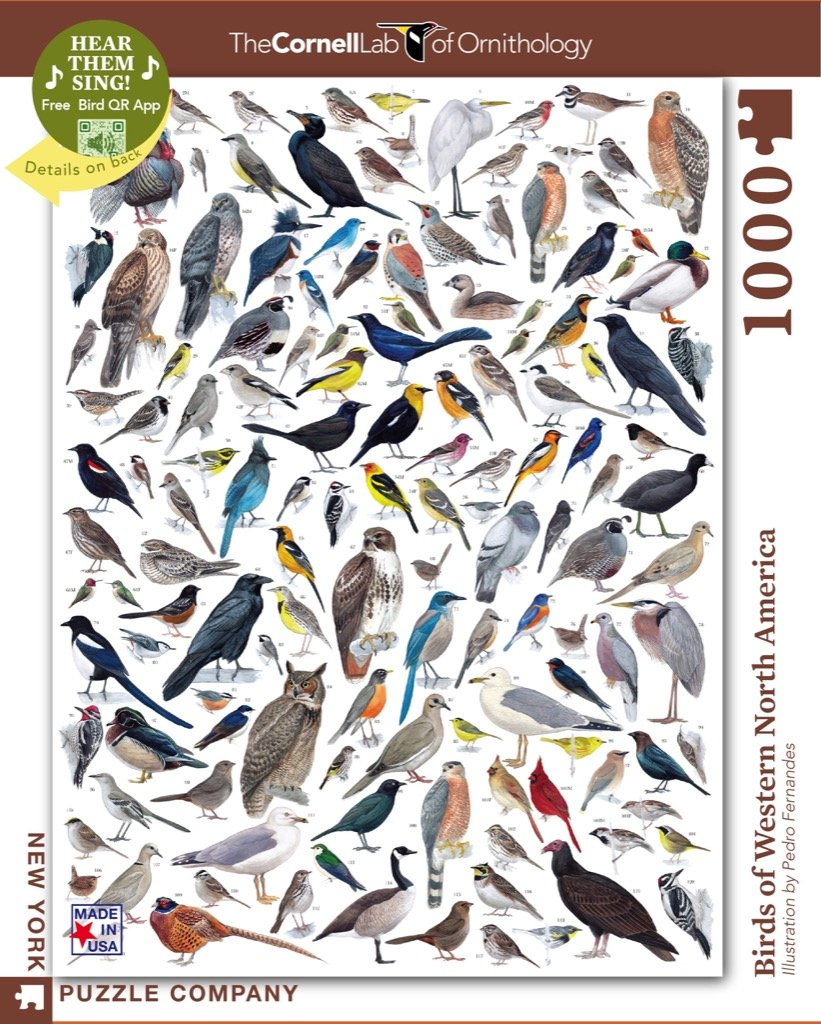 Birds Of Western North America puzzle