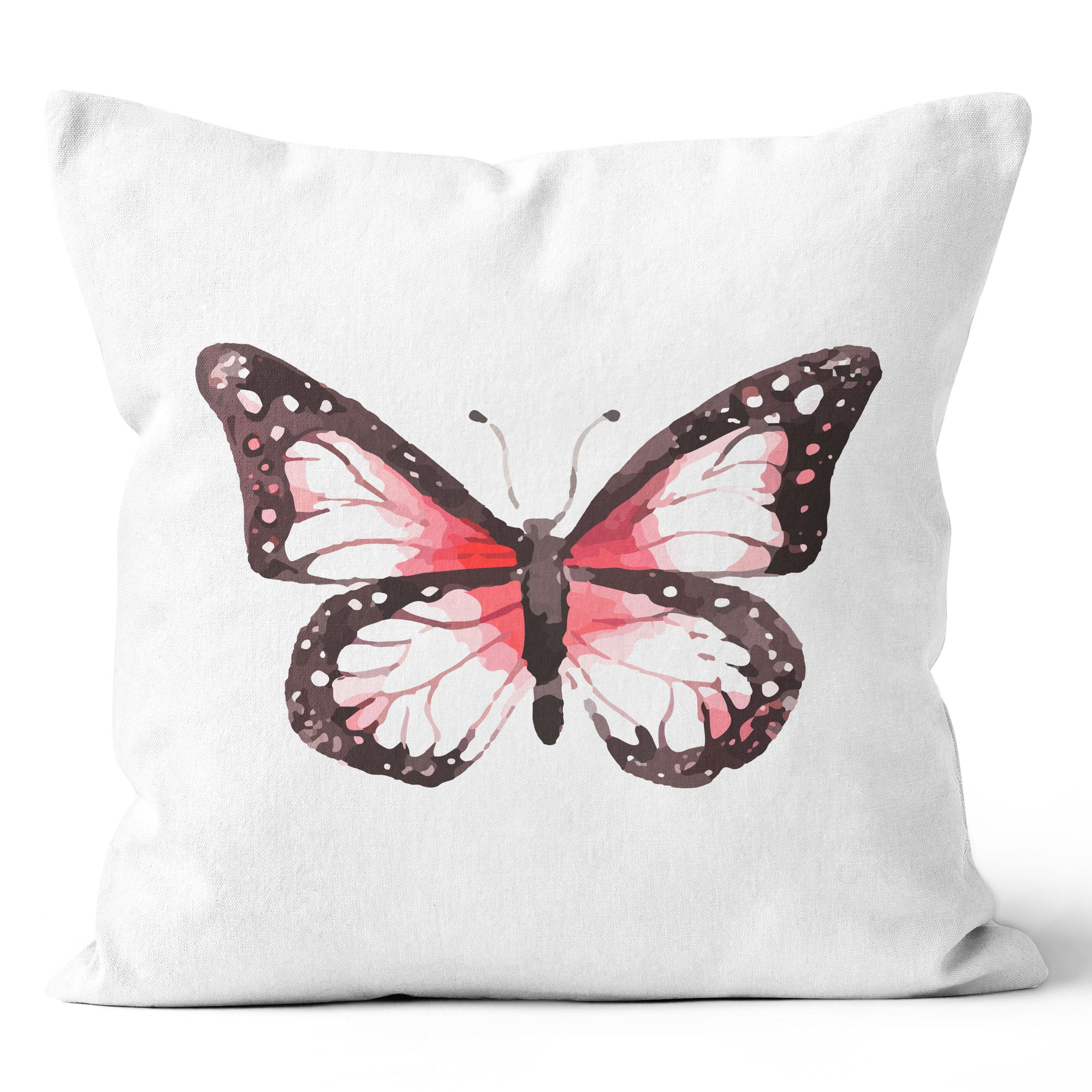 Precious Hints Butterfly Pink Cushion