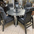 Como 5 piece Dining Set - Anthracite & Dark Grey