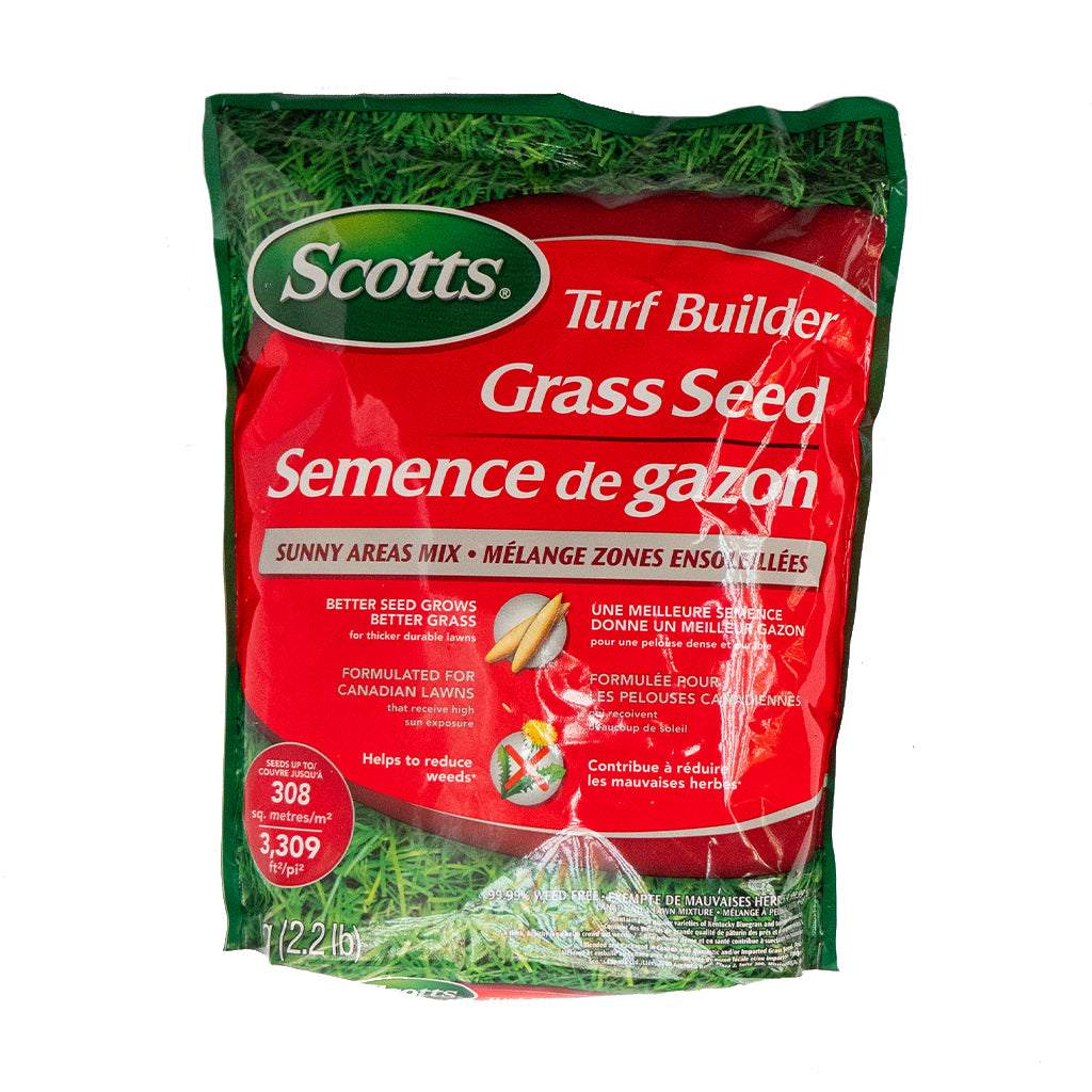 Scotts® Grass Seed For Sunny Areas 1kg