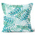 Urban Oasis Tropical Ferns Seaglass Cushion