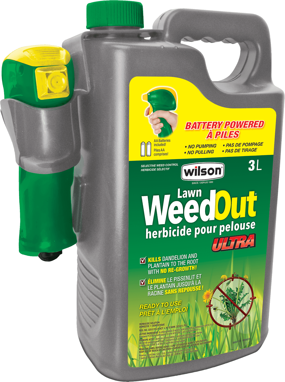 Wilson Lawn WeedOut 3L Ready To USe