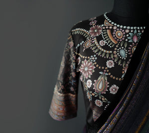 Tarun Tahiliani | Sari and Blouse