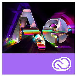 After Effects CC Named-User School/Nonprofit 12-month Subscription (1-user, download version)