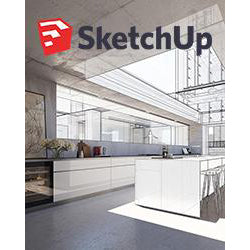Sketchup Pro 2019 School Network Lab License Download (1-Year License, 5 seat minimum, $15 per seat)