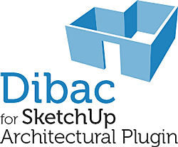 Dibac for SketchUp Architectural Plug-in