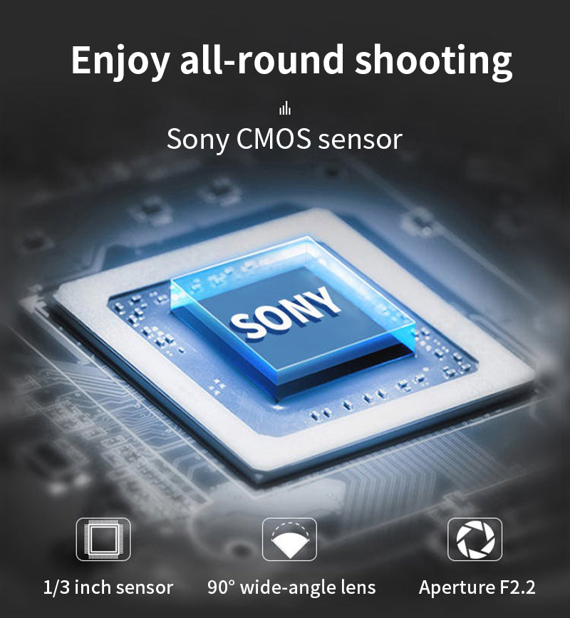 CMOS Sensor: Built-in 1/3 inch 13.0MP High-sensitivity CMOS sensor. 4K camcorder that can shoot up to 60fps with high quality.EP7 4k video cameras improve RGB colour space, reduce noise,And increase the resolution and dynamic range of 4K images.