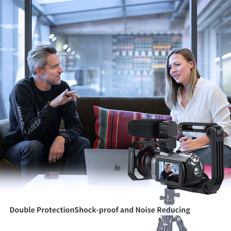 Double ProtectionShock-proof and Noise Reducing