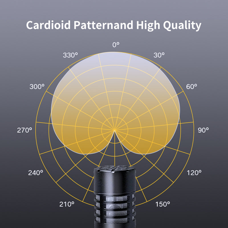 Cardioid Patternand High Quality