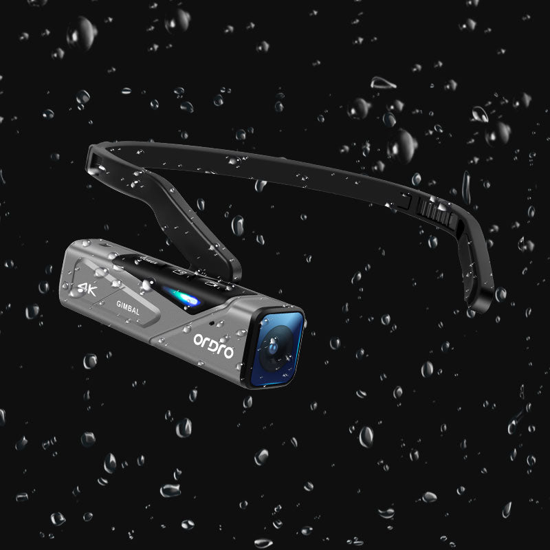 ORDRO Camcorder Head Wearable Video Cameras EP7 Support Live Stream & APP Control