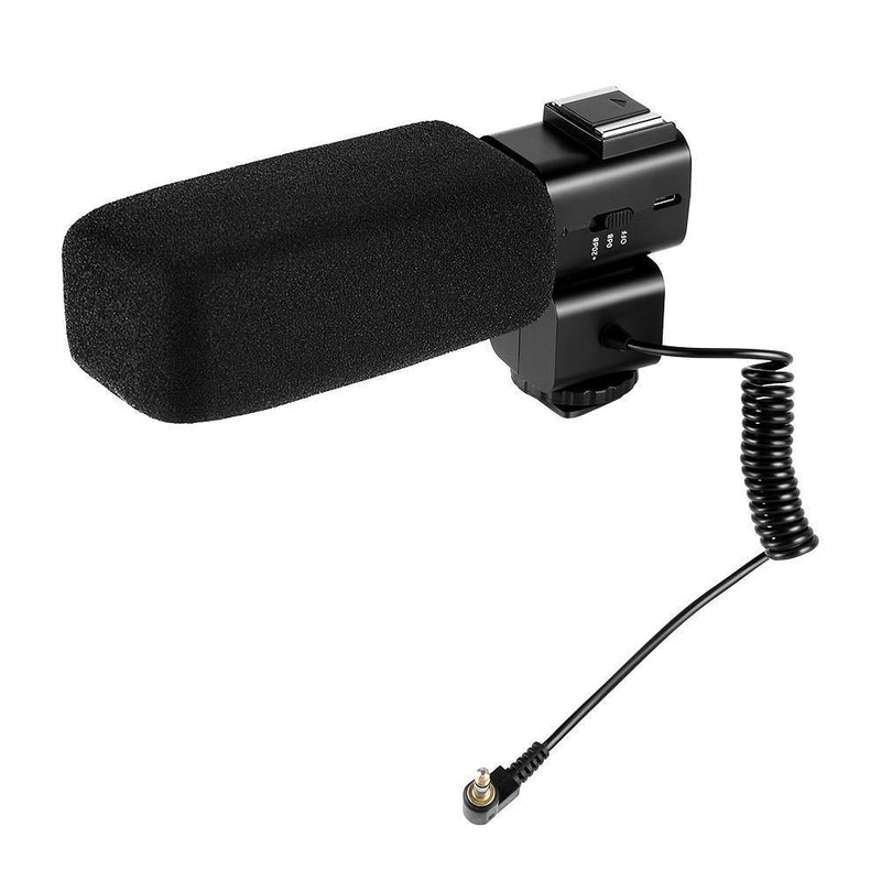 ORDRO CM530 Stereo On-Camera Camcorder Microphone - Ordro