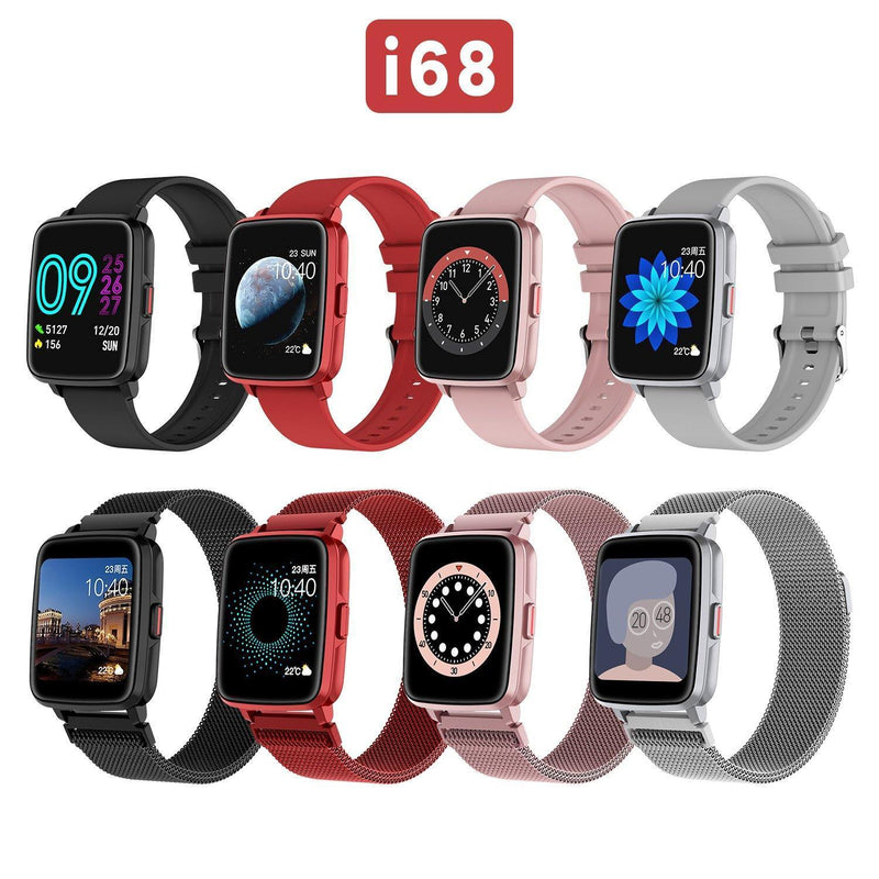New ORDRO I68 Smart Watch Waterproof  Bluetooth Watch 5.0 Support Android IOS - Ordro