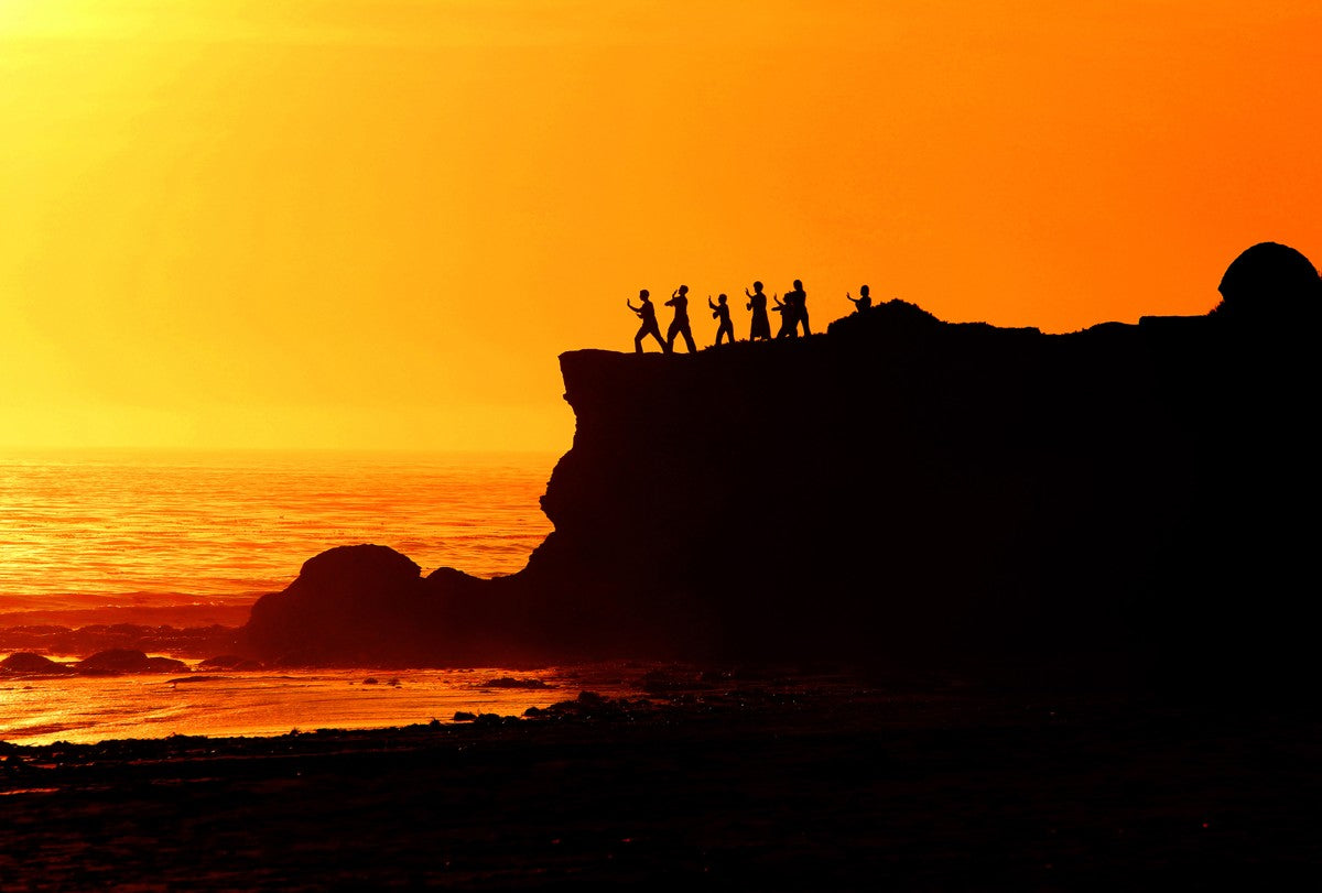 Tai Chi Sunset - California