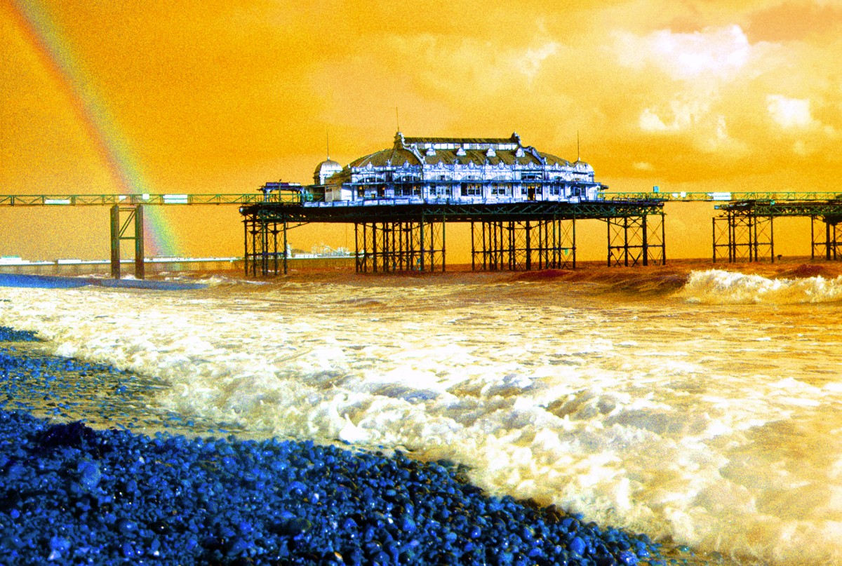 West Pier Rainbow - Brighton