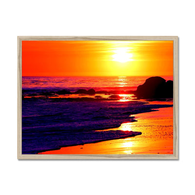 Sunset Dreams - California Framed Print
