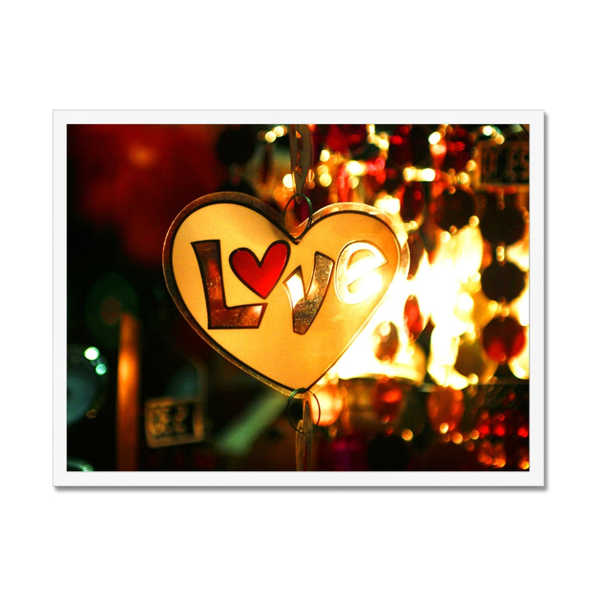 Love Vibes Framed Print