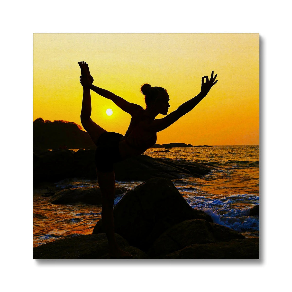 Yoga Dancer Canvas
