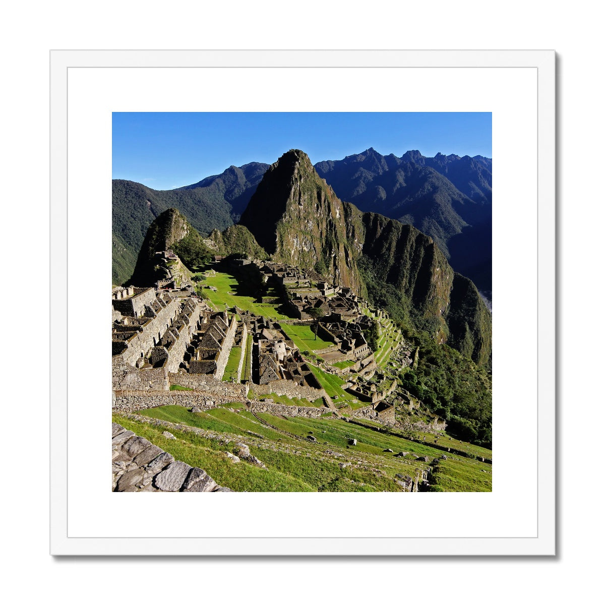 Machu Picchu Framed & Mounted Print