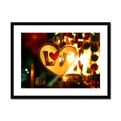 Love Vibes Framed & Mounted Print | Feel Good Images