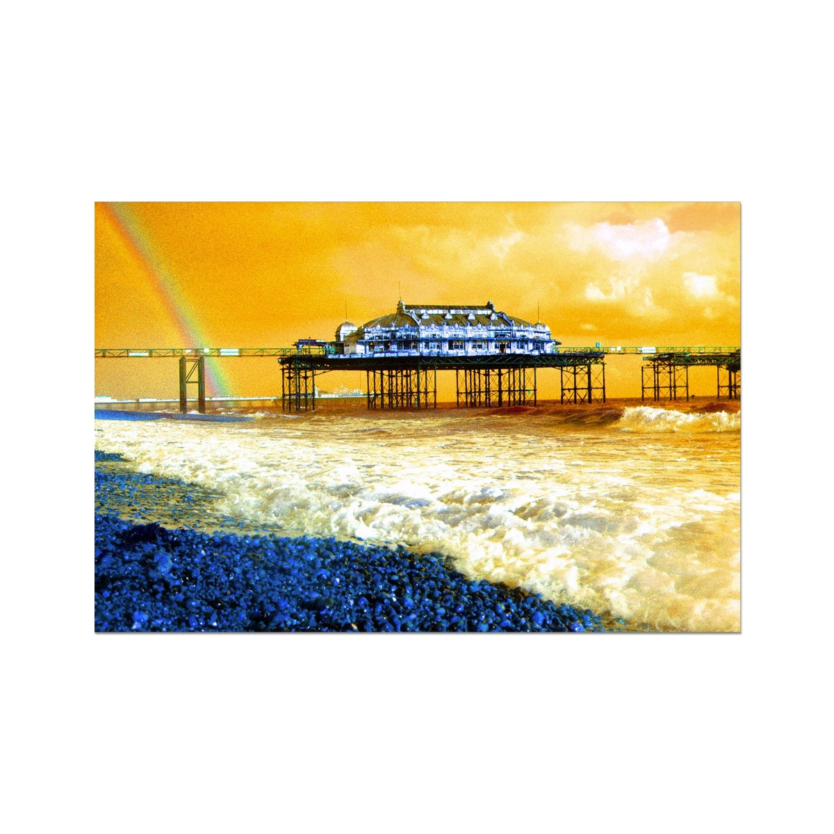 West Pier Rainbow - Brighton Photo Art Print