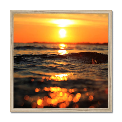 Golden Sea Vibes - Framed Print | Feel Good Images