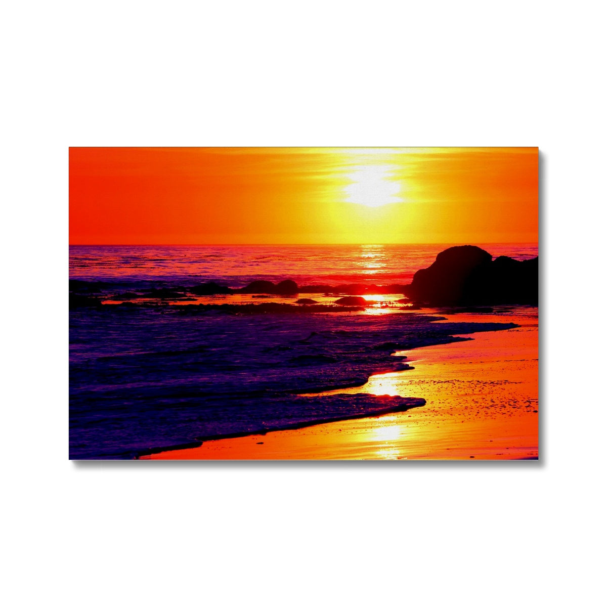 Sunset Dreams - California - Canvas