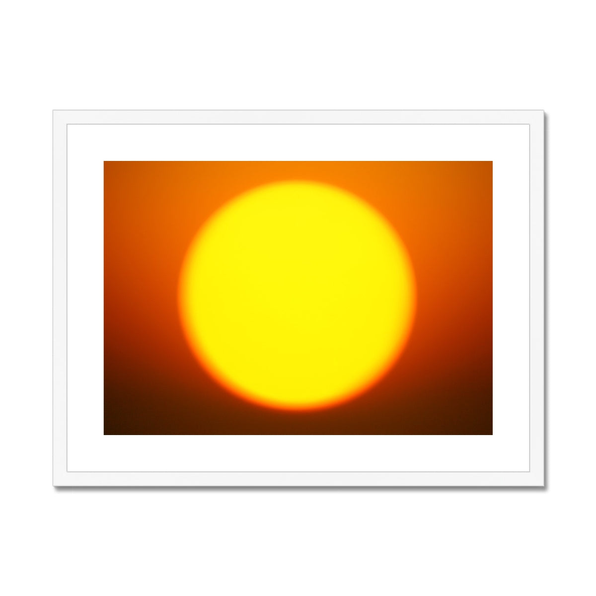 Golden Sun Dreams - Landscape Framed & Mounted Print