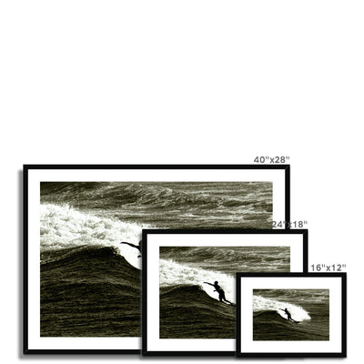Awesome Surfer - Australia Framed & Mounted Print | Feel Good Images