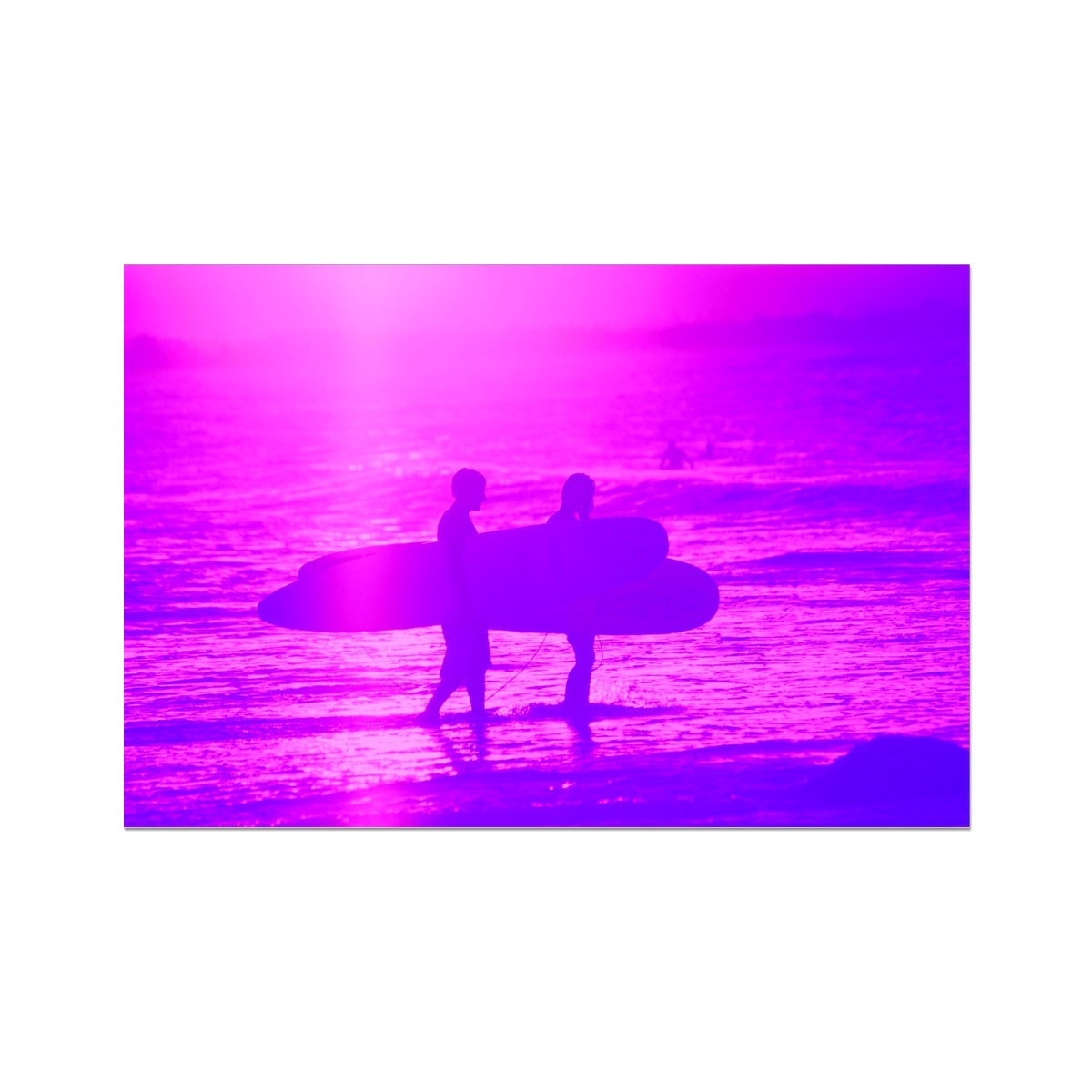 Surf Lovers - Australia - Photo Art Print