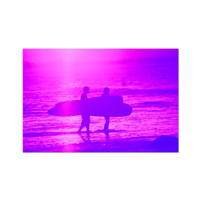 Surf Lovers - Australia - Photo Art Print | Feel Good Images
