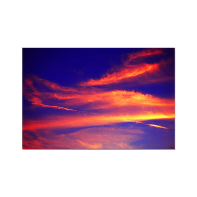 Electric Magical Sky Photo Art Print