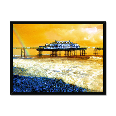 West Pier Rainbow - Brighton - Framed Print | Feel Good Images