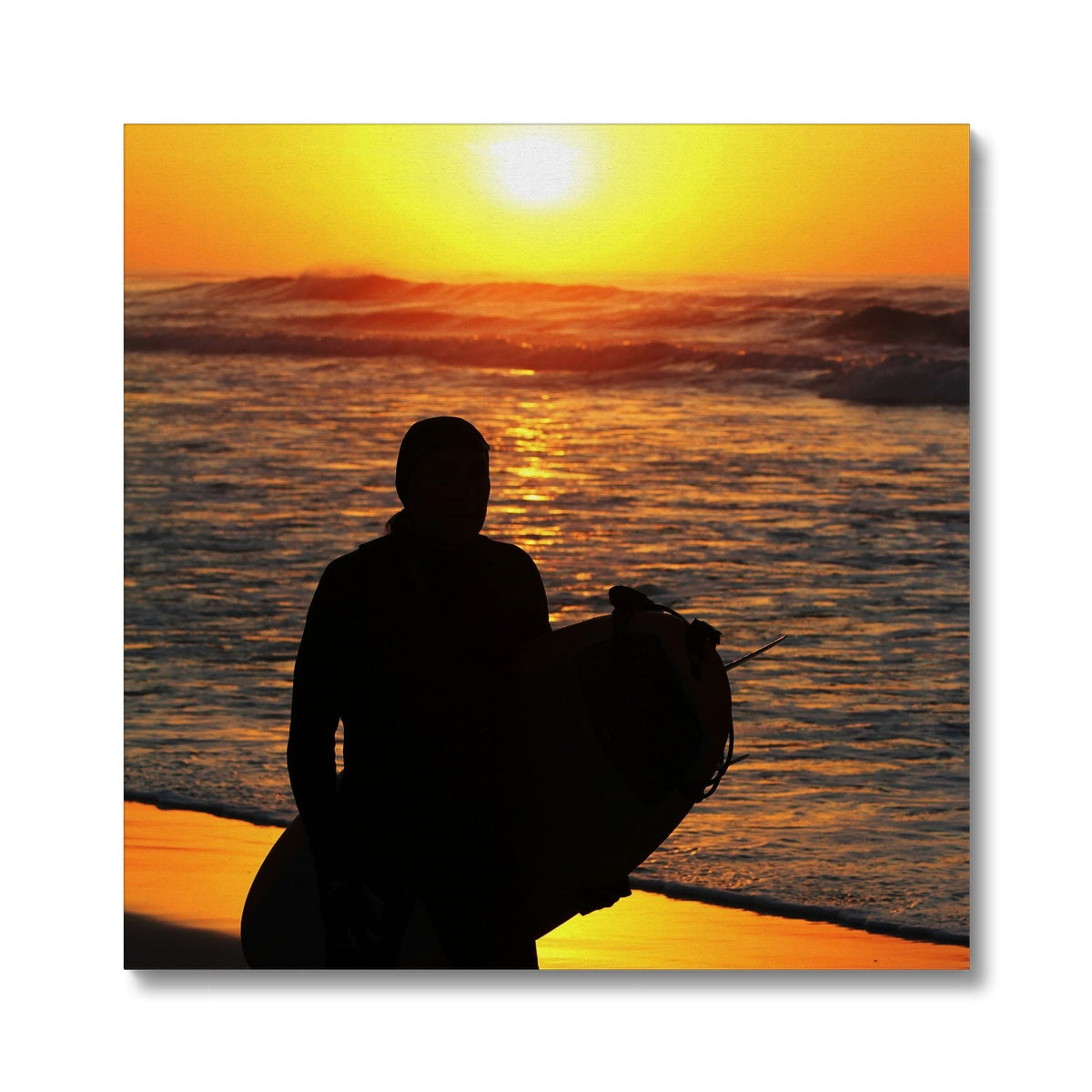 Surf Bliss Joy Canvas