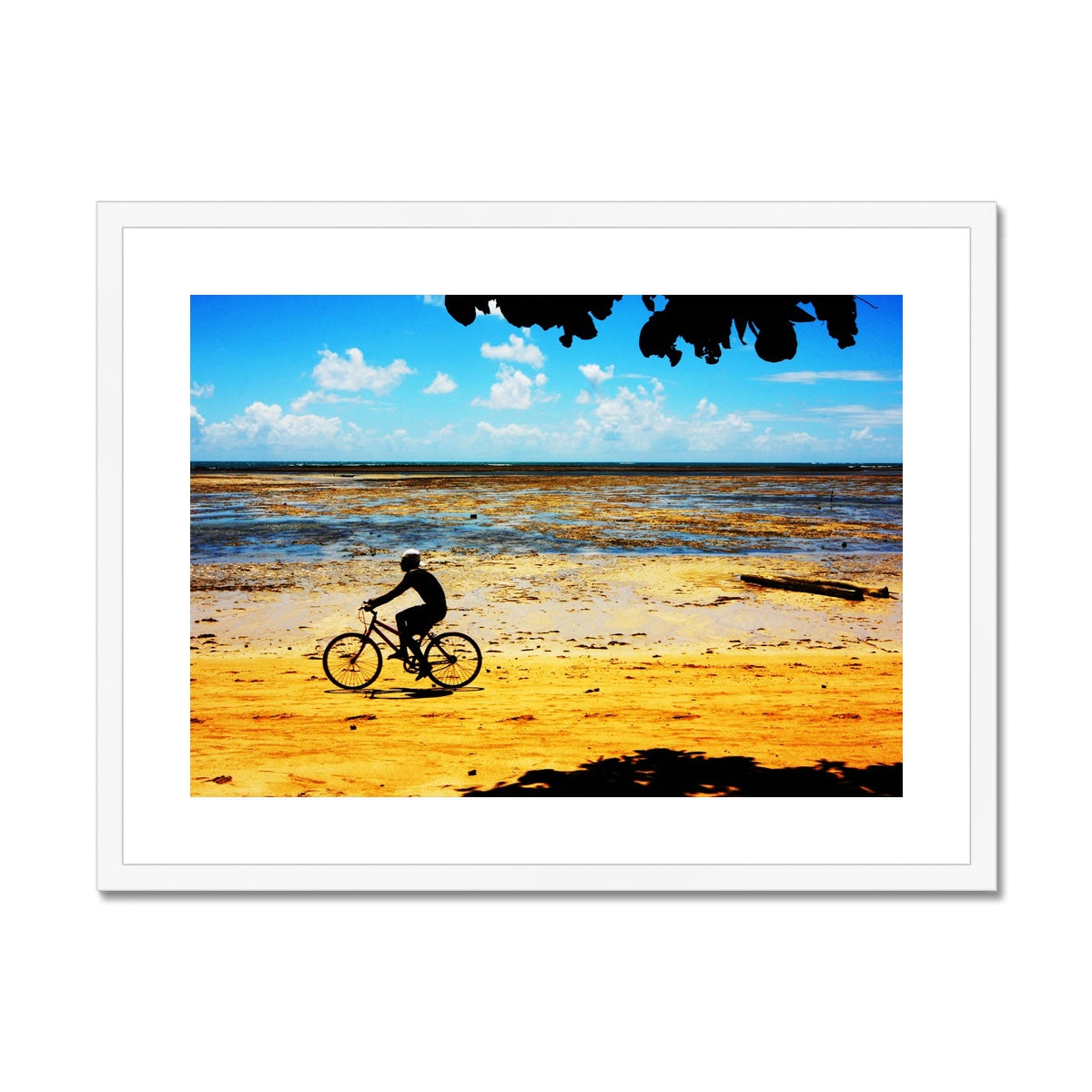 Bahia Bicyle Dreams - Brasil Framed & Mounted Print