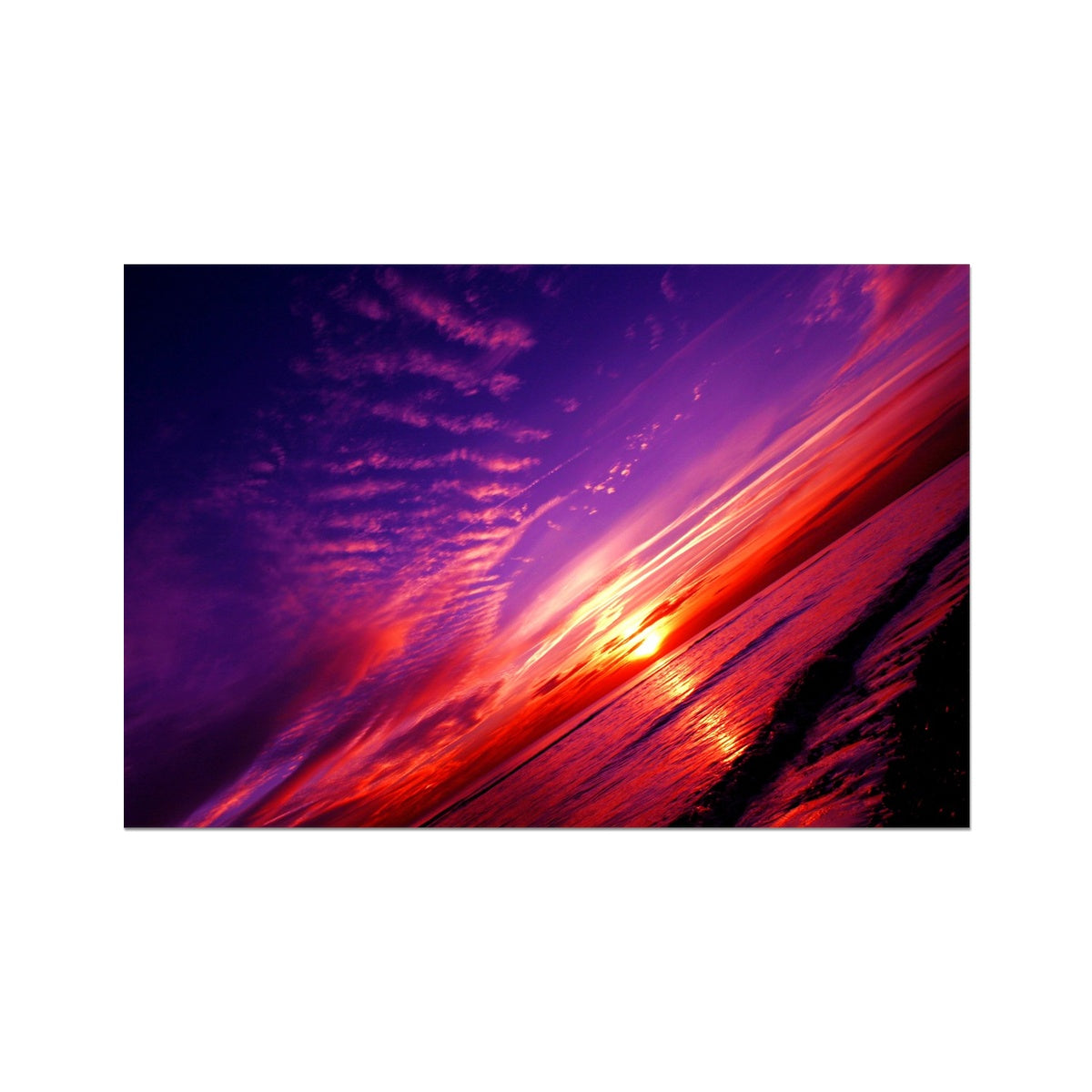 Sunset Dreams  Photo - Art Print