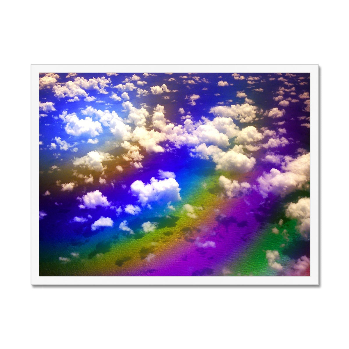 Rainbow Magic - Flying To Venezuela  Framed Print