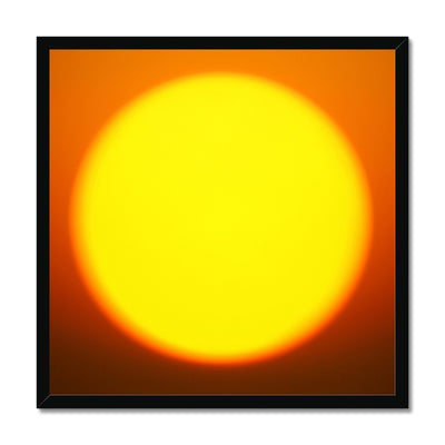 Golden Sun - Framed Print