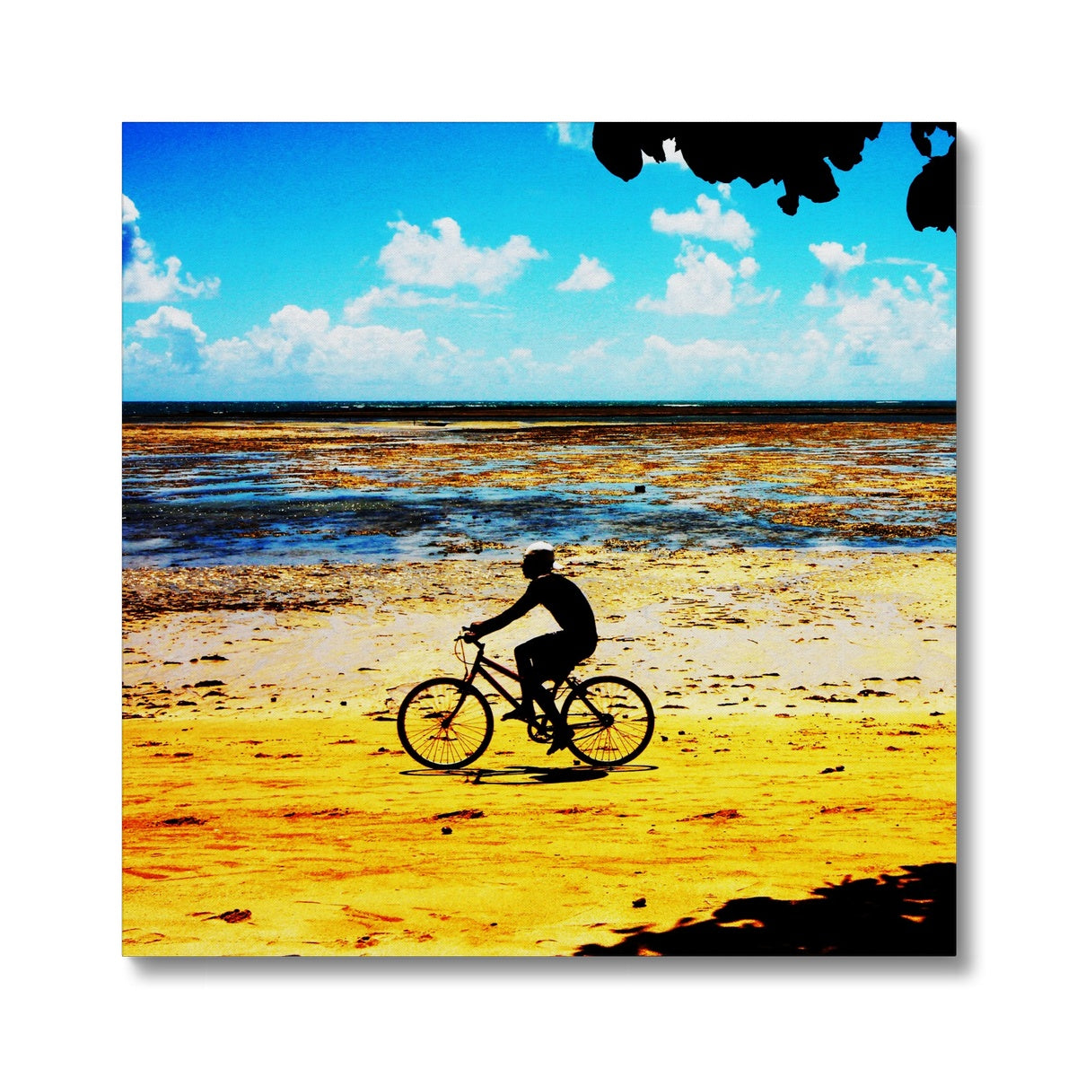 Bahia Bicycle - Square Canvas
