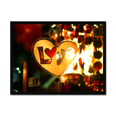 Love Vibes Framed Print | Feel Good Images
