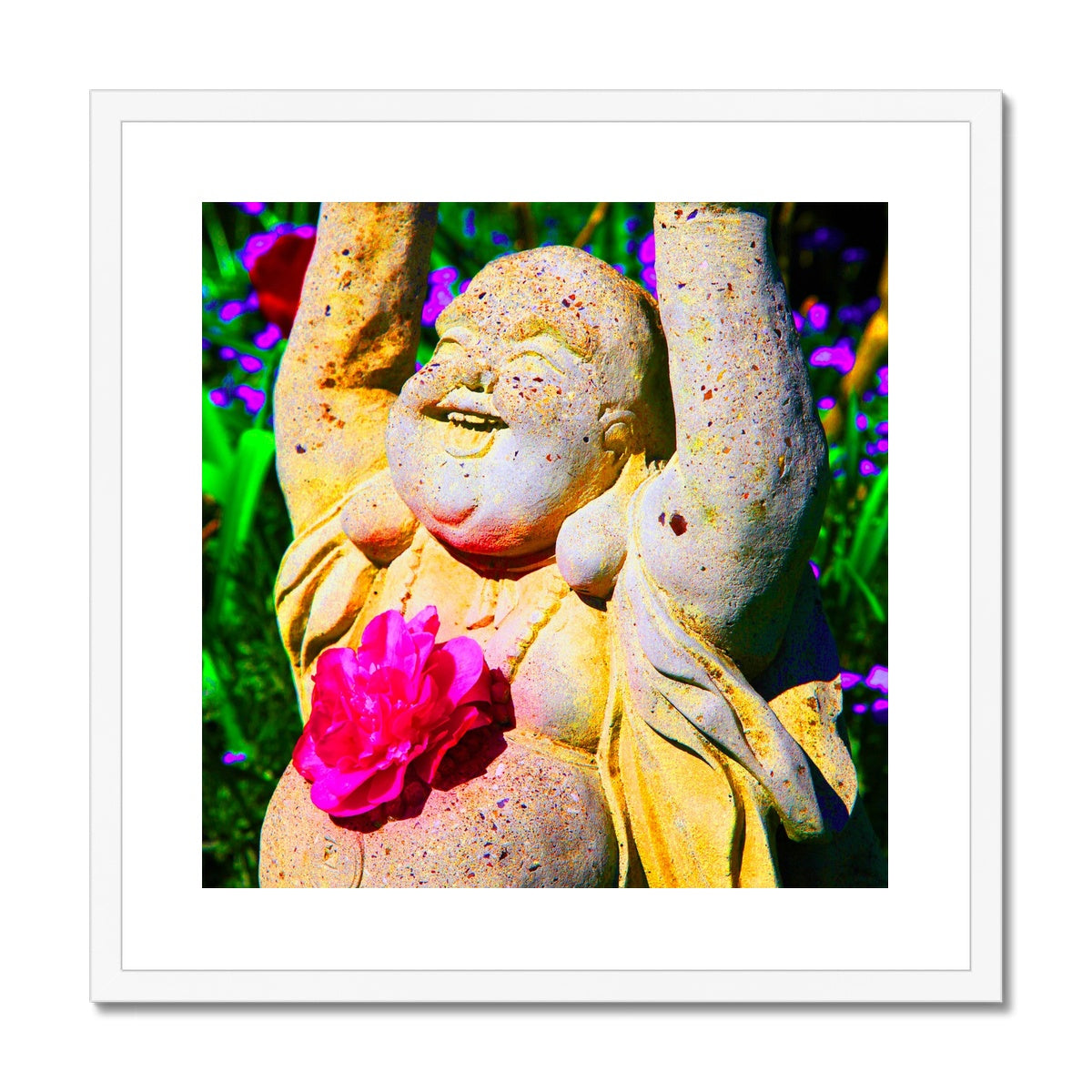 Buddha Joy Framed & Mounted Print