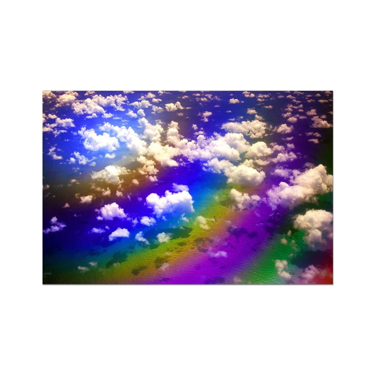 Rainbow Magic - Flying To Venezuela  Photo Art Print