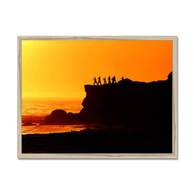 Tai Chi Sunset - California Framed Print | Feel Good Images