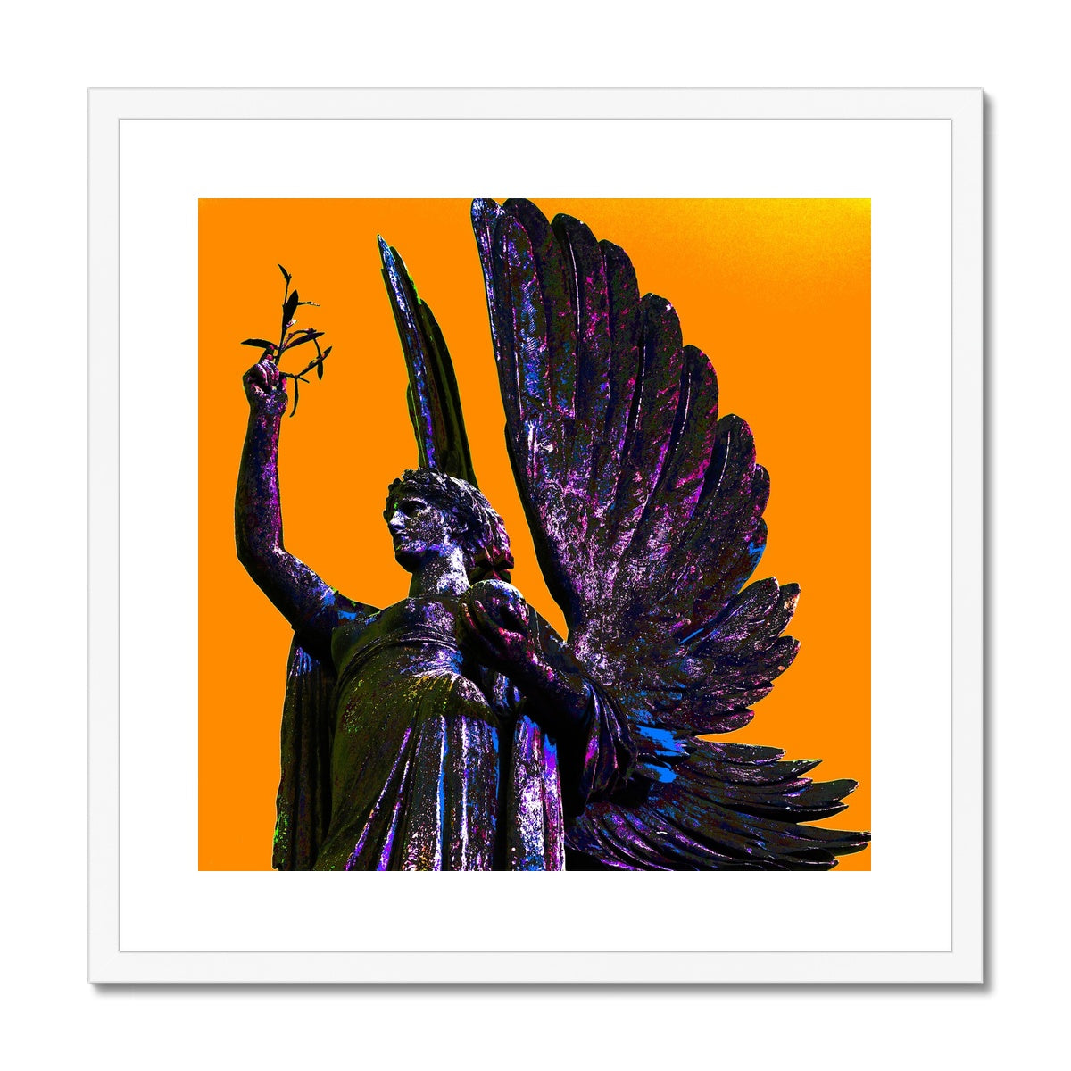 Peace Angel Framed & Mounted Print