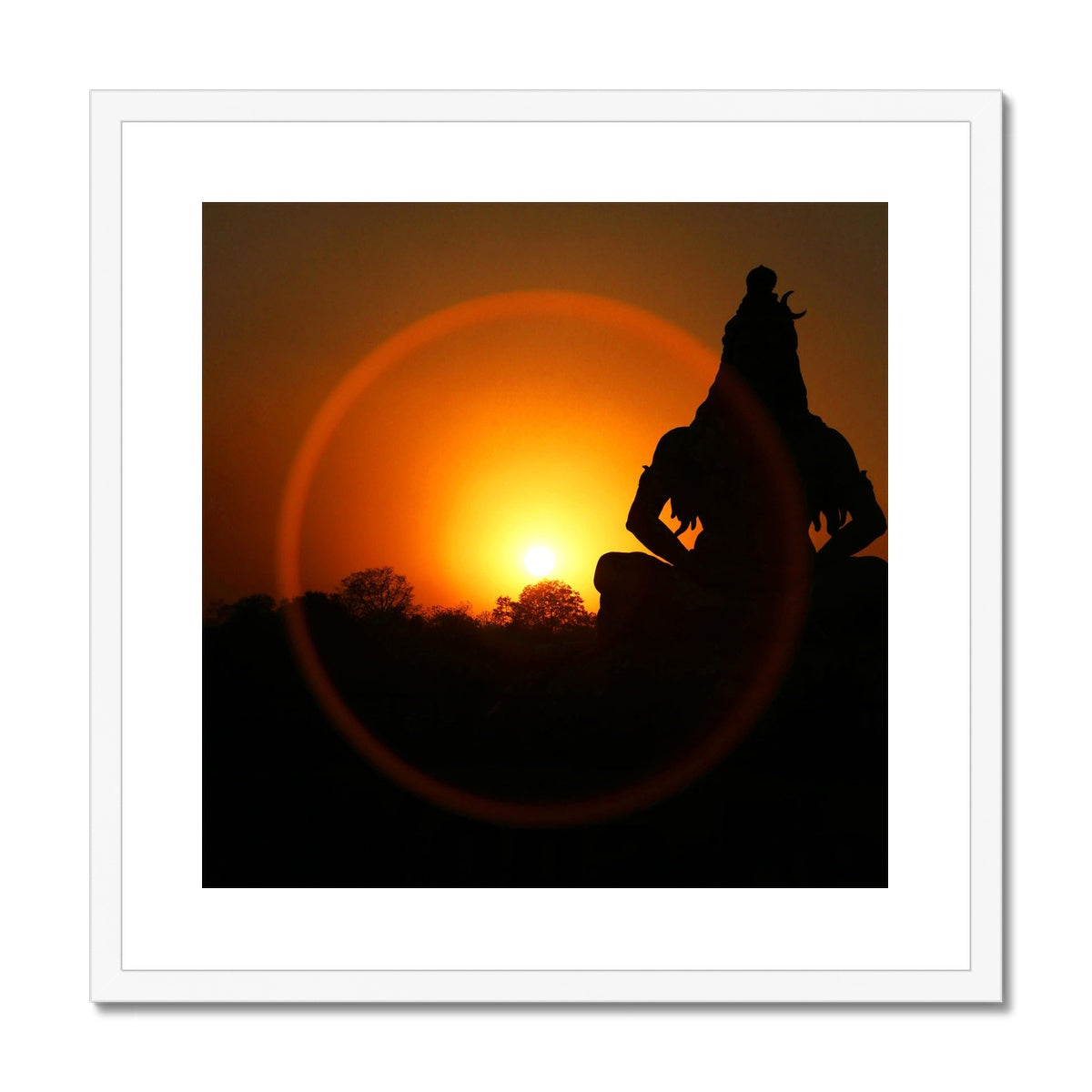 Shiva Framed & Mounted Print